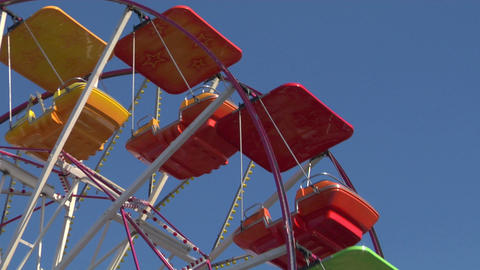 ferris wheel 03 Stock Video Footage