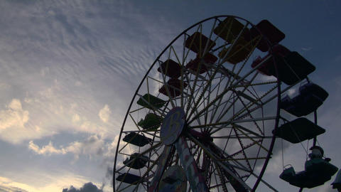 ferris wheel 05 Stock Video Footage