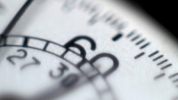 Detail of a stopwatch Stock Video Footage