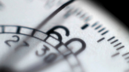 Detail Of A Stopwatch stock footage