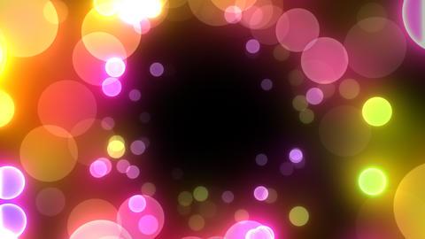 Neon Light in Dot Gt HD Stock Video Footage