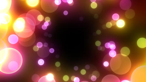 Neon Light in Dot Gt HD Stock Video Footage
