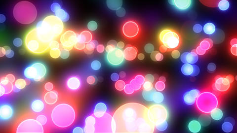 Neon Light Pan Dot E HD Stock Video Footage