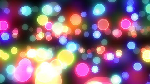 Neon Light Pan Dot E HD Stock Video Footage