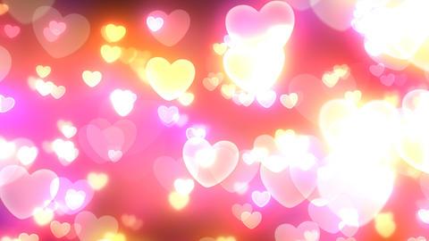 Neon Light Pan Heart E HD Stock Video Footage