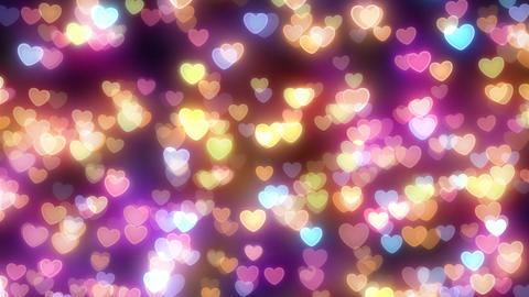 Neon Light Pan Heart F2 HD Animation