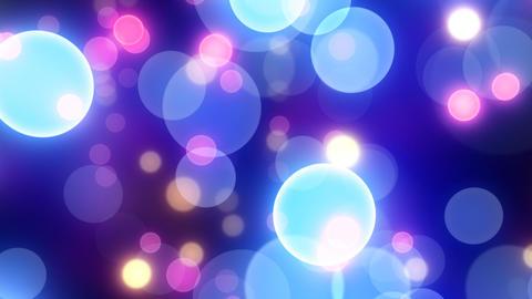Neon Light Wave Dot G HD Stock Video Footage