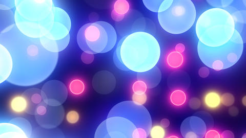 Neon Light Wave Dot G HD Stock Video Footage