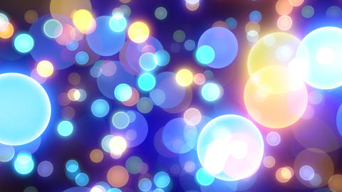 Neon Light Wave Dot J HD Stock Video Footage