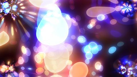 Neon Light Wave Dot M HD Stock Video Footage