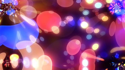 Neon Light Wave Dot M HD Animation