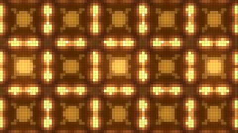 Neon Light Wave Dot P HD Stock Video Footage