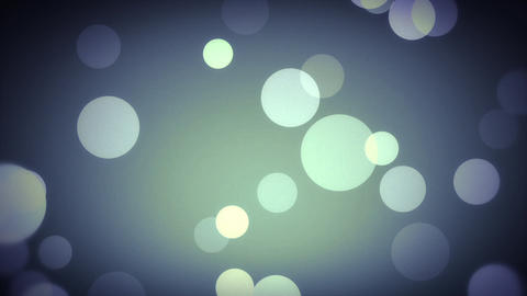 Bokeh Lights in Blue Stock Video Footage