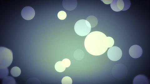 Bokeh Lights in Blue Animation
