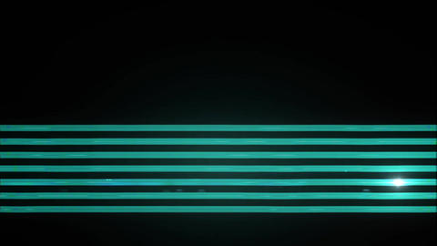 Light Tubes blue neon Animation