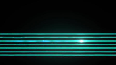 Light Tubes blue neon Stock Video Footage
