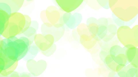 2D Pattern Wave Heart F HD Stock Video Footage