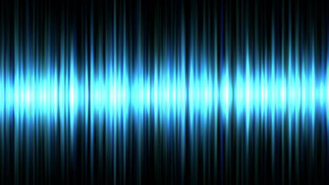 Blue waveform Stock Video Footage