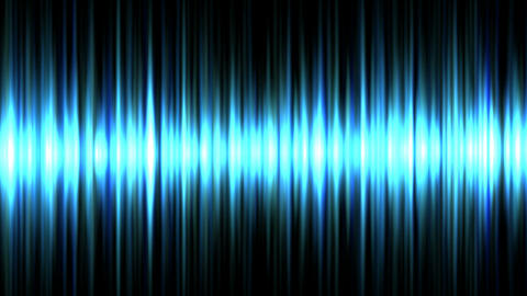 Blue waveform Animation