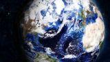 Planet Earth Sunrise 04 stock footage