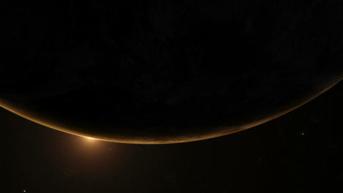 Planet Earth Sunrise 06 Stock Video Footage