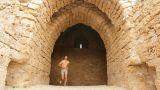 handsome Gladiator roman goddess body torso run running modling underear sexy Footage