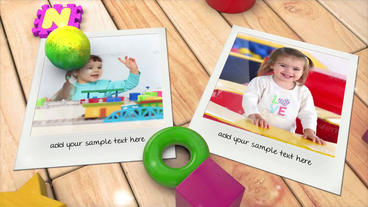 Kid's Photo Album Template After Effect