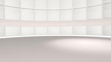Virtual News Studio stock footage
