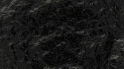 Black rough substance. (loop ready file) Animation