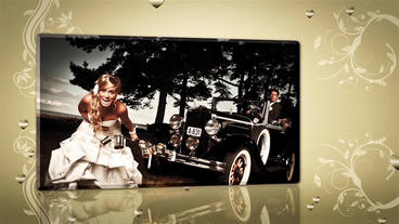 Wedding Flourish And Hearts Slideshow After Effects Project