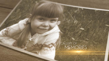 Gallery of Memories After Effects Template