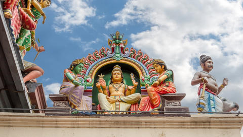 temple in Singapore Footage