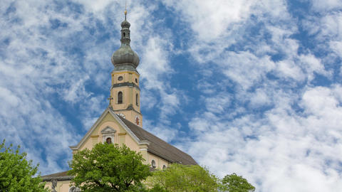 Church of the Assumption in Deggendorf, in the Bavarian Forest Germany Footage