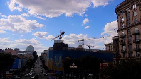 Downtown of Kyiv, Ukraine Footage