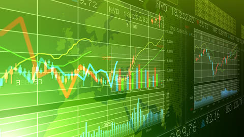 Business Graph K Afg 4 K stock footage