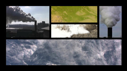 Environment collage 01 Footage
