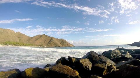 Beach Series Caribbean Beach 03 Footage
