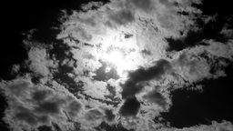 Black And White Sky stock footage