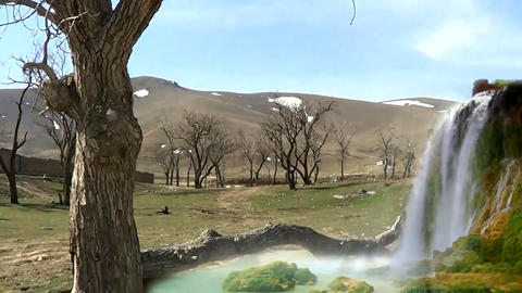 Magic Land 2( VFX Shot ) stock footage
