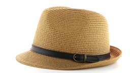 Straw Hat stock footage