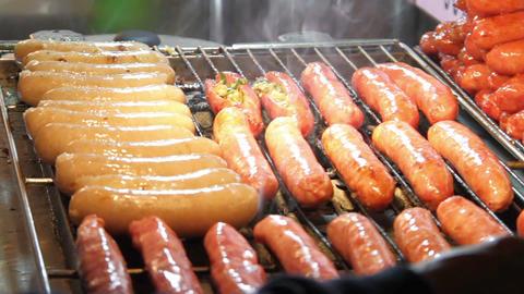 Roasting Sausages.HD ライブ動画