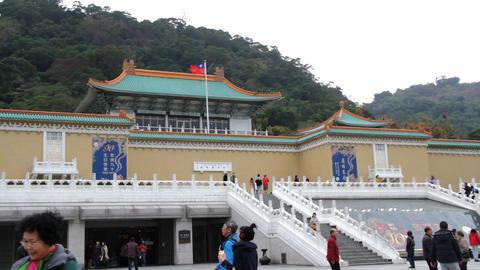 Taipei Palace Musem.HD Stock Video Footage