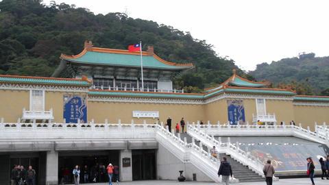 Taipei Palace Musem.HD Footage