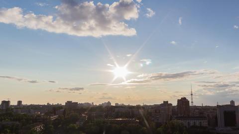 City Sunset 7 Footage