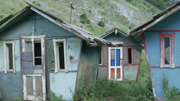 Dilapidated Houses Footage