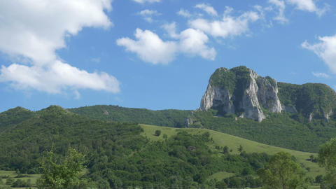 Beautiful Alpine Landscape Footage