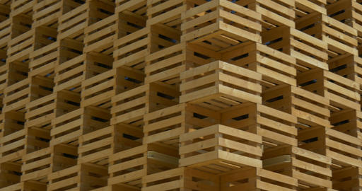 architectural wood pattern 03 Footage