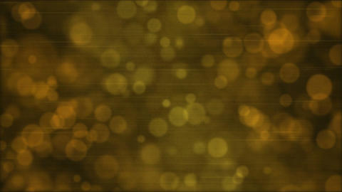 Particle Background Animation - Loop Golden Animation