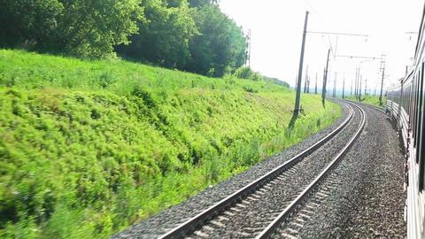 Suburban train Footage