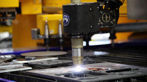 Fully automated oxyfuel cutting or cutting with conventional plasma can be enhan Footage